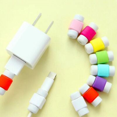 10 Pcs Mini USB Cable Protector For iPhone 6/7/Plus Data Charger Earphone Line