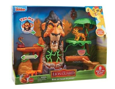 Junior's The Lion Guard The Rise of Scar Play Set w/ sounds New