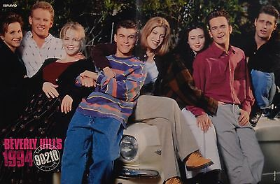 BEVERLY HILLS 90210 - A3 Poster (ca. 42 x 28 cm) - Clippings Fan Sammlung NEU