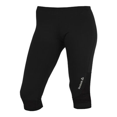 REEBOK TIGHT CAPRI Laufhose Running Work out 34 Gr. S 3436