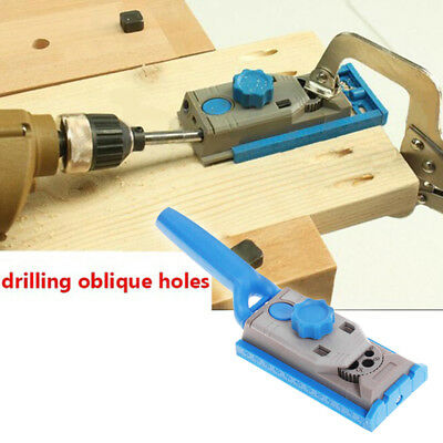 New Jig Pocket Hole Joinery Kit with Removable Drill Guide Carpentry Tool kit