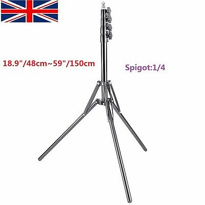 "Pro 59""/150cm Heavy Duty Studio Light Stand for Relfector Softbox LED Ring Flash"