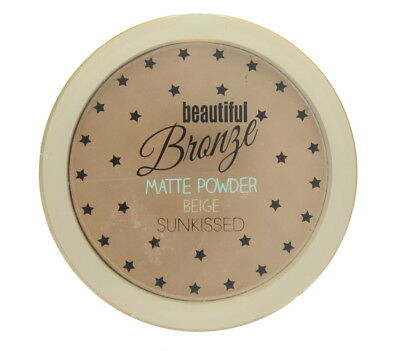 Sunkissed Beautiful Bronze Matte Pressed Powder with Flawless Finish