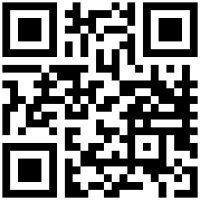 your qr code sticker as magnetic sign 150 mm x 150 mm 4 99