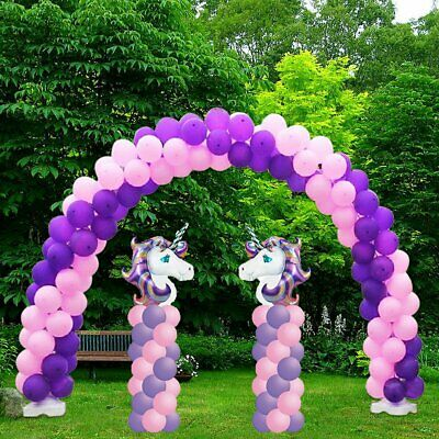 LOT Balloon Frame Column Stand Builder Kits for Birthday Wedding Decorations HM