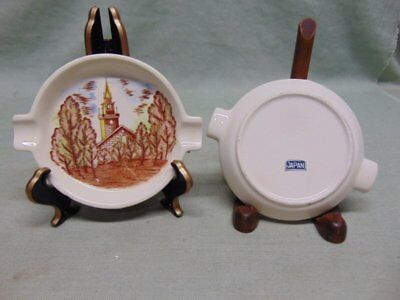 Vintage Japan (Pre WWII) Brown & Ritchie Ashtray's ?? - BRW1