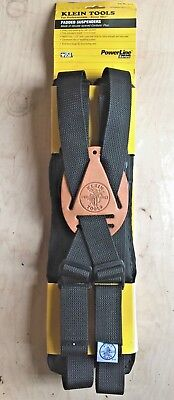 NEW Klein Tools PowerLine Padded Suspenders 5717 - USA Made