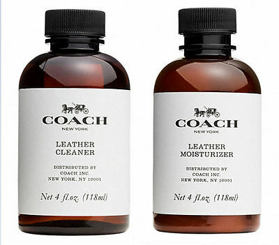 Authentic Coach Leather Cleaner & Moisturizer 4 Fl.oz.118 Ml Free Shipping