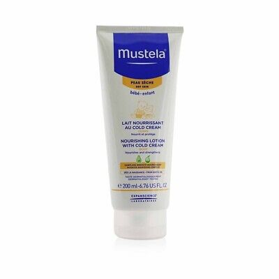 NEW Mustela Nourishing Body Lotion With Cold Cream - For Dry Skin 200ml Womens