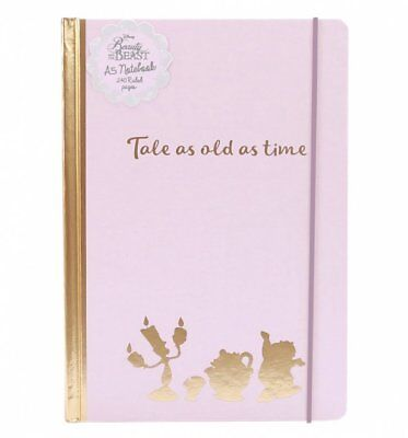 Official Disney Beauty And The Beast Tale As Old As Time Notebook