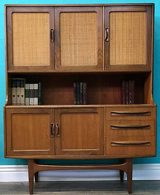 Stylish Rare Retro Vintage Early Mid Century G Plan Record Cabinet Bookcase