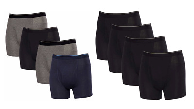 Kirkland Signature Men's Boxer Briefs Underwear 4 Pack Select Color Size