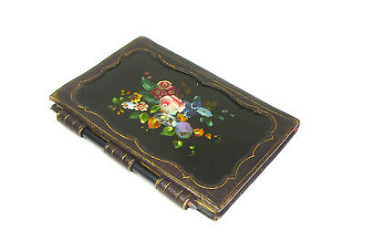 Extraordinary Notebook Wood with Mother of Pearl Inlay around 1860 B-02578
