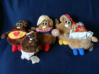 Trudy/Nestle - Nestle Morsels Plush Toys - Set of 5 - NEW with tags