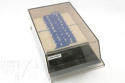 Rolodex VIP 24C Card File Unused Cards 2 1/4 X 4 Inch A To Z Tabs