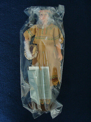 Avon - International Porcelain Doll Collection - Tasime - New in Box