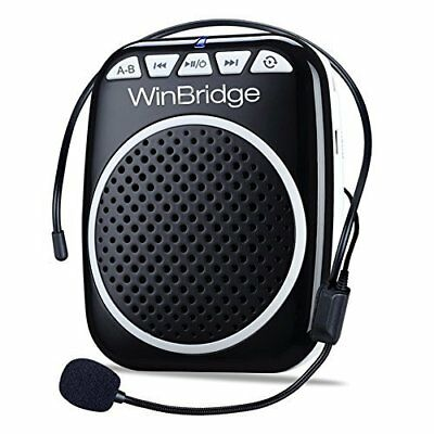 WinBridge WB001 Rechargeable Ultralight Portable Voice Amplifier Waist Support M