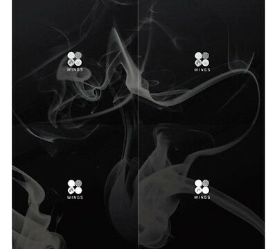 BTS WINGS 2nd Album Random Ver. CD+1p Card+96p PhotoBook KPOP