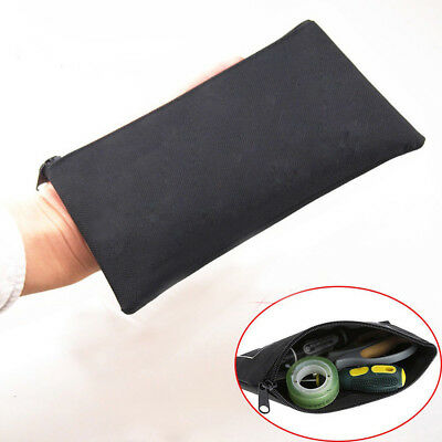 Useful Waterproof Oxford Cloth Tool Kit Bag Zipper Storage Instrument Case Pouch