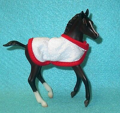 Breyer Classic Cute Bay Morgan Foal With Blanket Vet Care Set #61039 New 13-Now