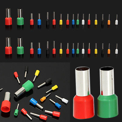 Heat Shrink Electrical Wire Butt Connectors  Crimp Ring Terminals Kit Assorted