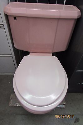 Vintage Eljer Pink Toilet 1950 S  Era / Awesome Retro Piece