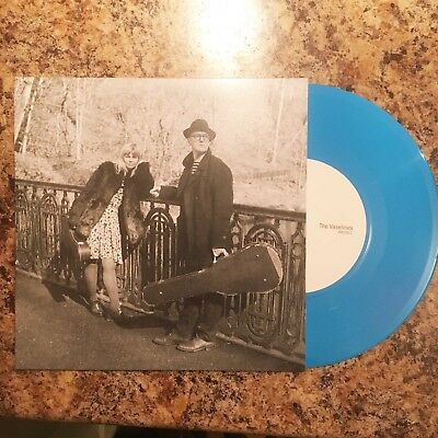 "The Vaselines High Tide Low Tide - Rare 7"" Blue Vinyl Single Kurt Cobain Nirvana"