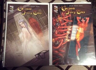 Zenescope Comics - Grimm Fairy Tales - Lot of 2 - Issue #78 and 79