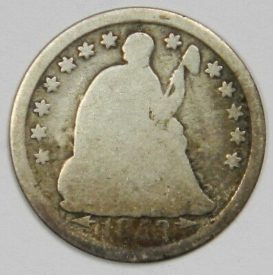 1853 Seated Half Dime - Priced Right! Inv.9A
