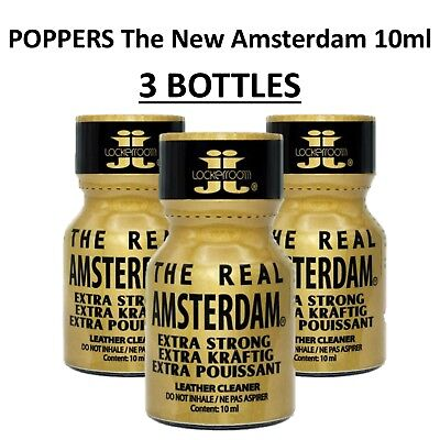 3X Poppers THE REAL AMSTERDAM - Pentyle Nitrite