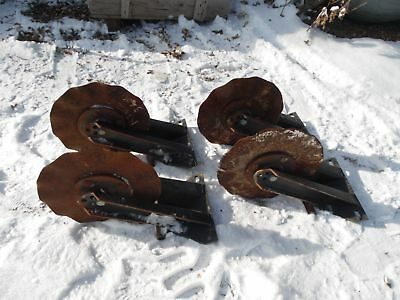 4 Kinze John Deere No-Till Planter Coulters