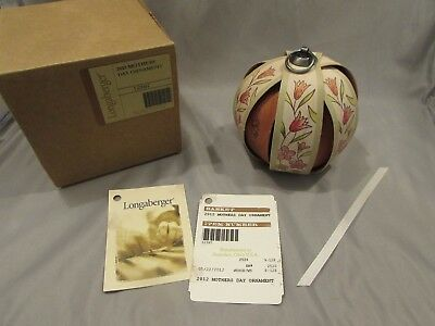 New Longaberger Tree Of Life Ornament 2012 Mothers Day    A-1