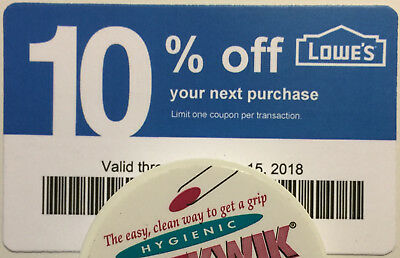 Twenty (20) LOWES Coup0ns 10% OFF At Competitors ONLY notLowes Exp July15 2018
