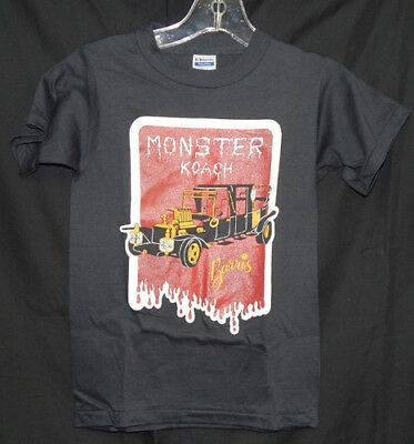 1980's George Barris Kids Monster Koach NOS  T-shirt