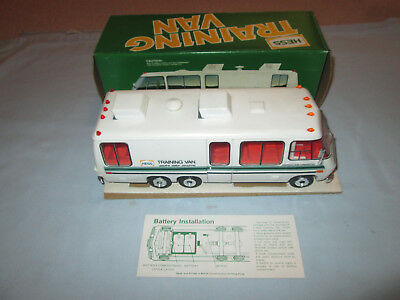 1978 Hess Training Van with Original Box and Inserts.