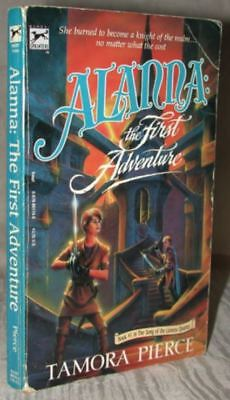 ALANNA The First Adventure Tamora Pierce SONG OF THE LIONESS Book 1 1986 1st PB