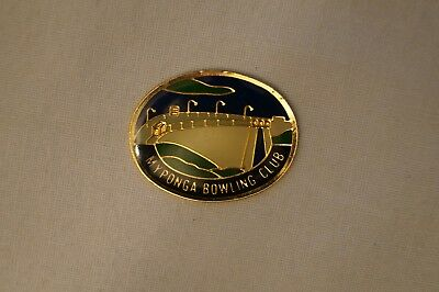 Collectable - Myponga Bowling Club - Members Badge