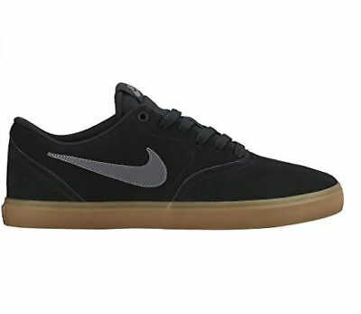 0447559d131 Men s Nike SB Check Solar Skate Shoe Black Anthracite-Gum Dark Brown 843895  003
