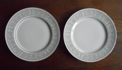 "LOT of 2 Imperial China Whitney 10 3/8"" Dinner Plates #5671"