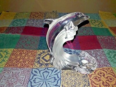 Lenox Dolphin Candle Holder