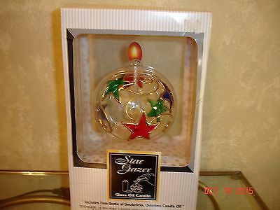 Lamplight Farms Star Gazer Oil Lamp With 8 Oz Oil & Funnel