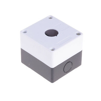 "1-Hole Switch Box for 22mm 7/8"" PushButton Plastic Enclosure Power Push ButtoEVz"