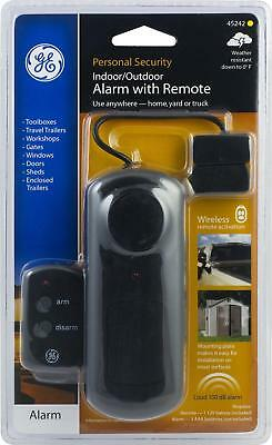GE Personal Security Indoor/Outdoor Alarm With Remote 45242 Use Anywhere Truck