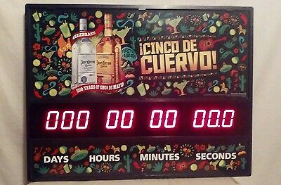Jose Cuervo Cinco De Mayo Digital Countdown Sign