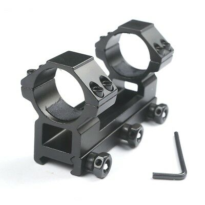 Hot Sale One Piece Flat Top 30mm Double Ring Higher Profile Scope Mount 20mm
