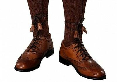 Genuine Leather Pride Brown Ghillie Brogue by Scottish Kilt