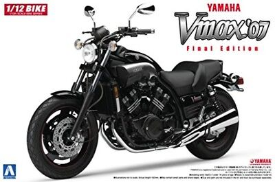 Aoshima 51658 Bike 08 YAMAHA V-Max '07 1/12 Scale Kit Free Shipping From JAPAN