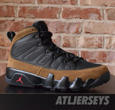 2d657139f7ffc NIKE AIR JORDAN 9 IX Retro Boost NRG Black OLIVE Red AR4491-012 Size ...