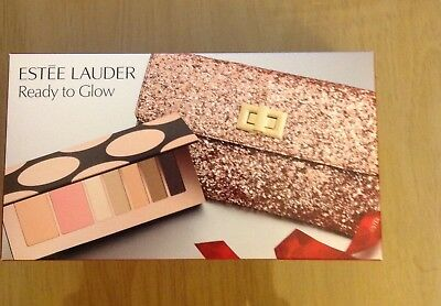 Estée Lauder makeup set with clutch-ready to glow 2017