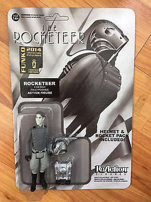 """Rare Funko Reaction Boxed 3.75"""" The Rocketeer Action Figure Convention Exclusive"""